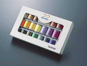 Brother ETS22 | Embroidery Thread Set  22 Colours