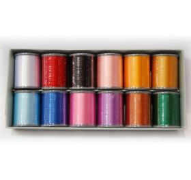 Brother ETS12 | Embroidery Thread 12 Colours Set
