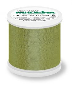 Madeira 9840_1156 | Rayon Embroidery Thread 200m | Light Army Green