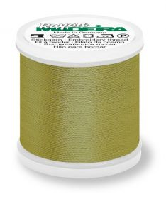Madeira 9840_1190 | Rayon Embroidery Thread 200m | Green Gold