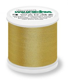 Madeira 9840_1192 | Rayon Embroidery Thread 200m | Temple Gold