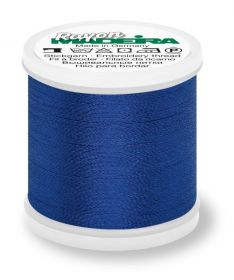 Madeira 9840_1166 | Rayon Embroidery Thread 200m | Bright Navy