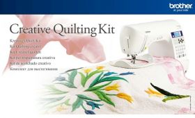 Brother QKF1 | Creative Quilting Kit