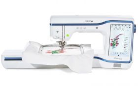 brother stellaire XE1 embroidery machine on finance