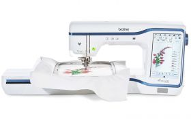 Brother Innov-Is Stellaire XE1 Embroidery Machine.