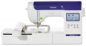 brother f440E computerised embroidery machine on finance