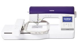 brother nv800e computerised embroidery machine on finance