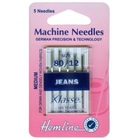 sewing machine needle for jeans