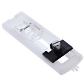 Janome 200134000 | Sliding Buttonhole Sewing Foot with Sizer | Category A