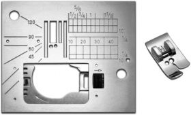 Janome 846808013 | Straight Stitch Foot & Needle Plate for 6500P